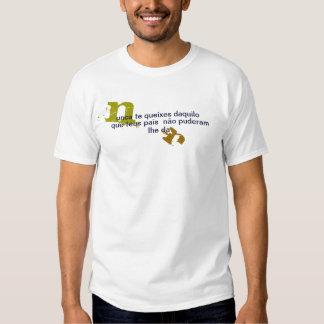 Basic t-shirt Never You complain