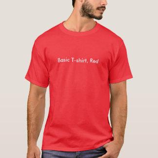 Basic T-shirt, Red T-Shirt