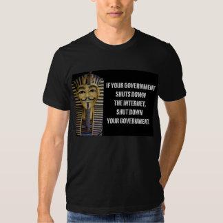 "Basic T-Shirt ""Shut down the government"""