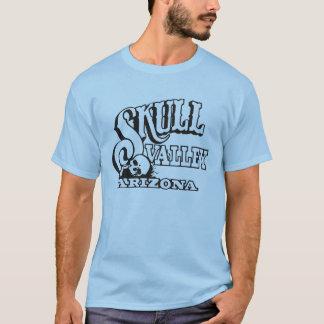 Basic T-Shirt w/ Skull Valley, Arizona Skull Logo