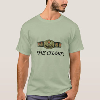 Basic T-shirt with the champ print design