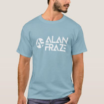 Basic T - White AF with alanfraze.com T-Shirt