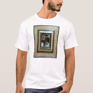 Basic T with man framed T-Shirt