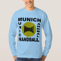 Basic tee-shirt blue sky MUNICH HANDBALL T-Shirt