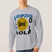 Basic tee-shirt gray LEIPZIG GOLF T-Shirt