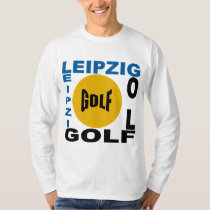 Basic tee-shirt white LEIPZIG GOLF T-Shirt