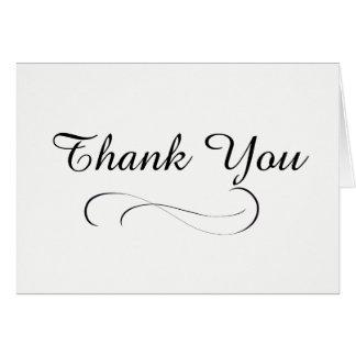 Basic Thank You Card