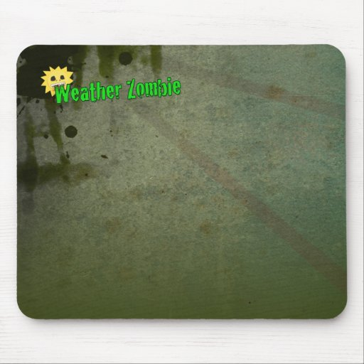 Basic Weather Zombie Mouse Pad