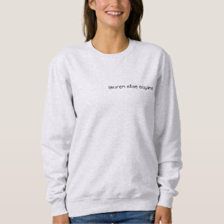 Basic White Girl vs. Equestrian Sweatshirt