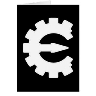 Basic White Logo Card