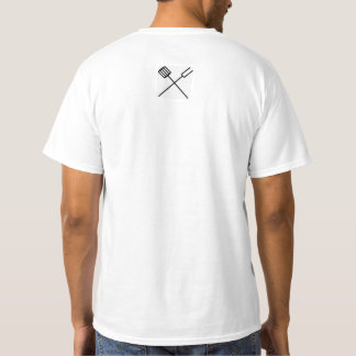 Basic white t-shirt with much quality