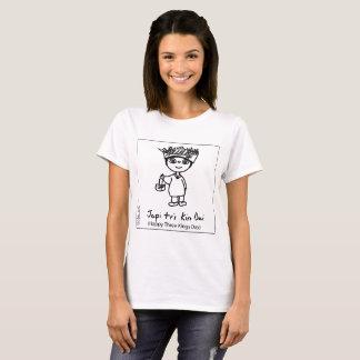 Basic Woman's Happy Three Kings Day T-shirt