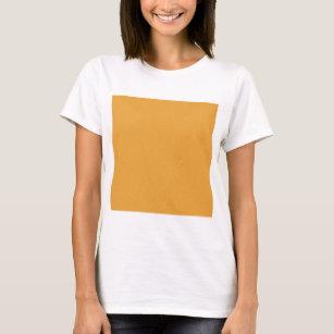 Basicg SOLID ORANGE COLOR BACKGROUND WALLPAPER TEX T Shirt