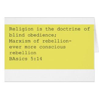 BAsics 5:14 note card