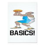 "Basics 5"" X 7"" Invitation Card"