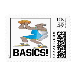 Basics Postage Stamp