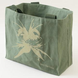 Basil Bee Balm Bergamot Wildflower Name Tote Bag