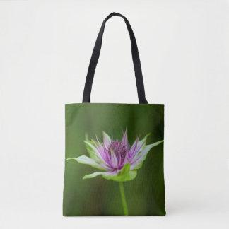 Basil Bee Balm Bergamot Wildflower Tote Bag