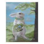 Basil Bunny - Print