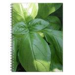 Basil Leaves Notebook