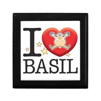 Basil Love Man Gift Box