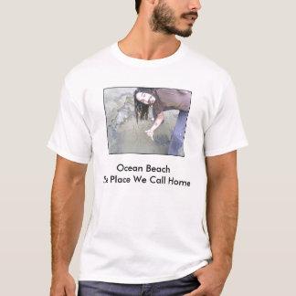 Basil, Ocean BeachThe Place We Call Home T-Shirt