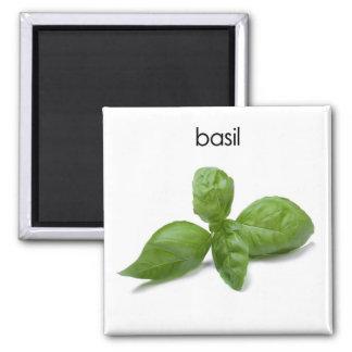 Basil Refrigerator Magnet