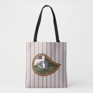 Basil the Pig All-Over-Print Bag