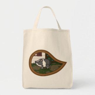 Basil the Pig Light Tote Bag