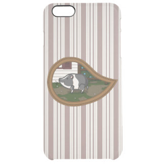 Basil the Pig Uncommon iPhone Case