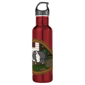 Basil the Pig Water Bottle