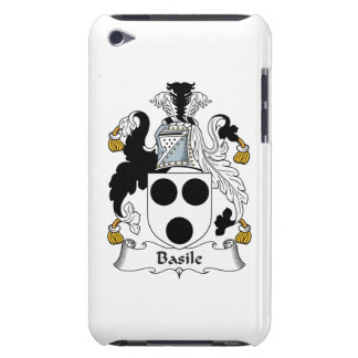 Basile Family Crest Barely There iPod Covers