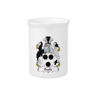 Basile Family Crest Beverage Pitchers