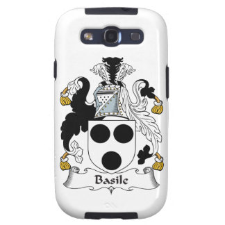 Basile Family Crest Galaxy SIII Case