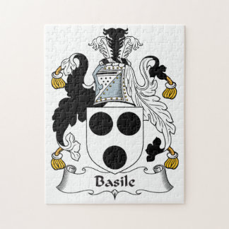 Basile Family Crest Jigsaw Puzzles