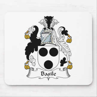 Basile Family Crest Mouse Pad
