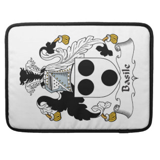 Basile Family Crest Sleeve For MacBook Pro