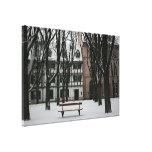Basilea en invierno, Suiza Impresiones En Lienzo Estiradas