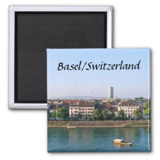 Basilea Suiza - imán del recuerdo