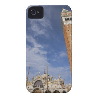 Basilica and Bell Tower St Mark's Square Venice iPhone 4 Case-Mate Case