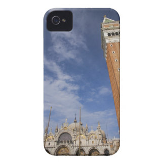 Basilica and Bell Tower St Mark's Square Venice iPhone 4 Cover