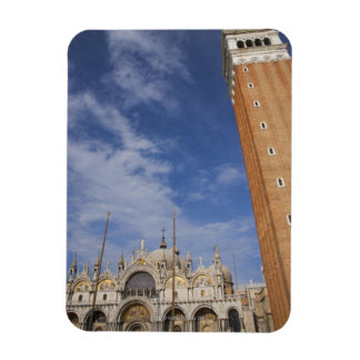 Basilica and Bell Tower St Mark's Square Venice Magnet