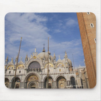 Basilica and Bell Tower St Mark's Square Venice Mouse Pad