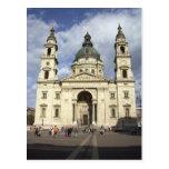 Basílica Budapest Hungría del St. Stephens Tarjeta Postal