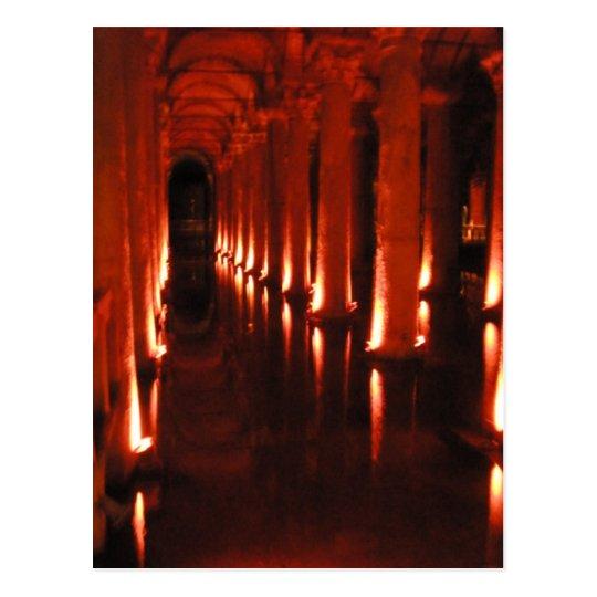 Basilica Cistern Postcard