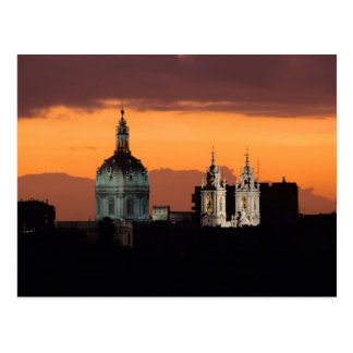 Basilica da Estrela, Bairro Alto, Lisbon, Postcard