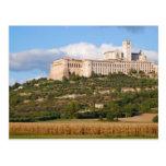 Basílica de Assisi Tarjeta Postal