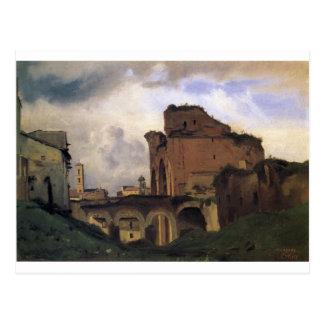 Basílica de Constantina de Camilo Corot Postal