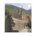 Basilica de Covadonga, España del noroeste Bloc De Notas
