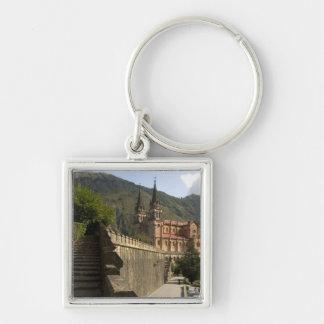 Basilica de Covadonga, northwestern Spain. Keychain